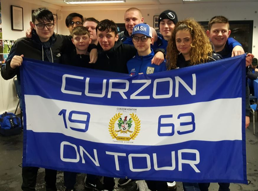 Curzon Youth Flying the Flag!